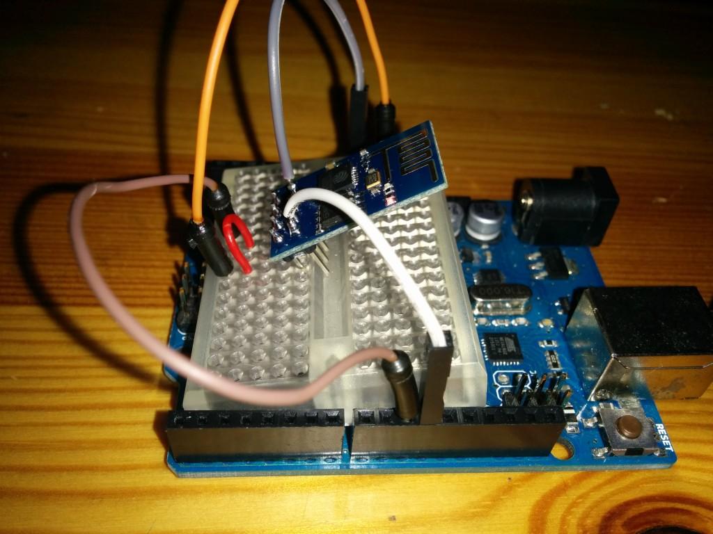 ESP8266 auf einem Arduino Uno