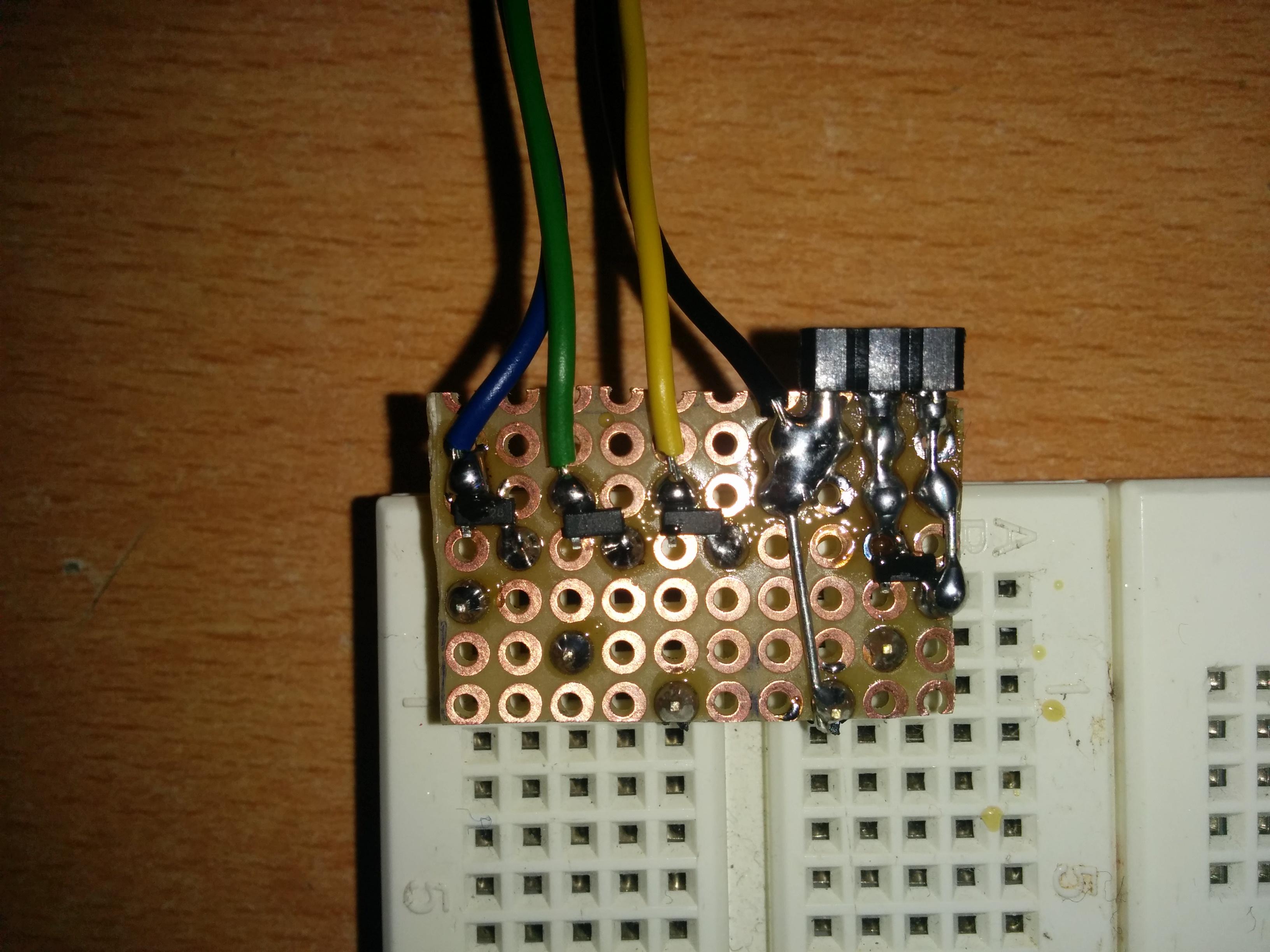 Schritt 9: Kabel anlöten