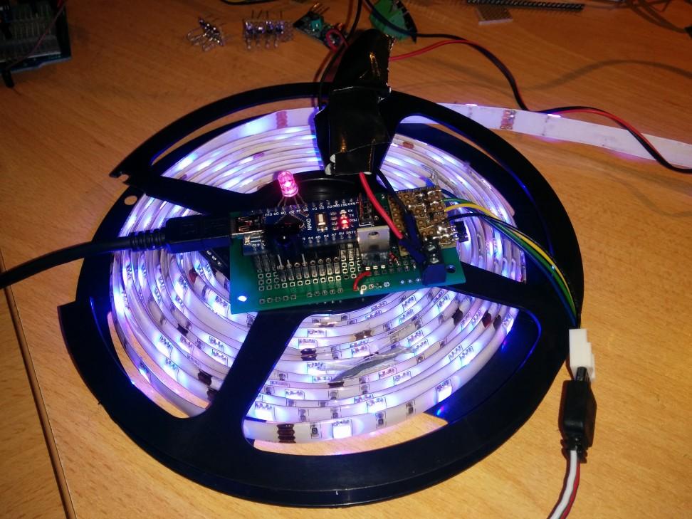 Arduino RGB Controller
